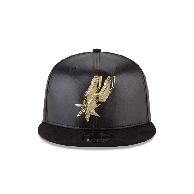 new arrivals d0a7b 7201a ... hat by new era f9d42 15440  canada san antonio spurs suede with gold  9fifty strapback front view 6c468 27001