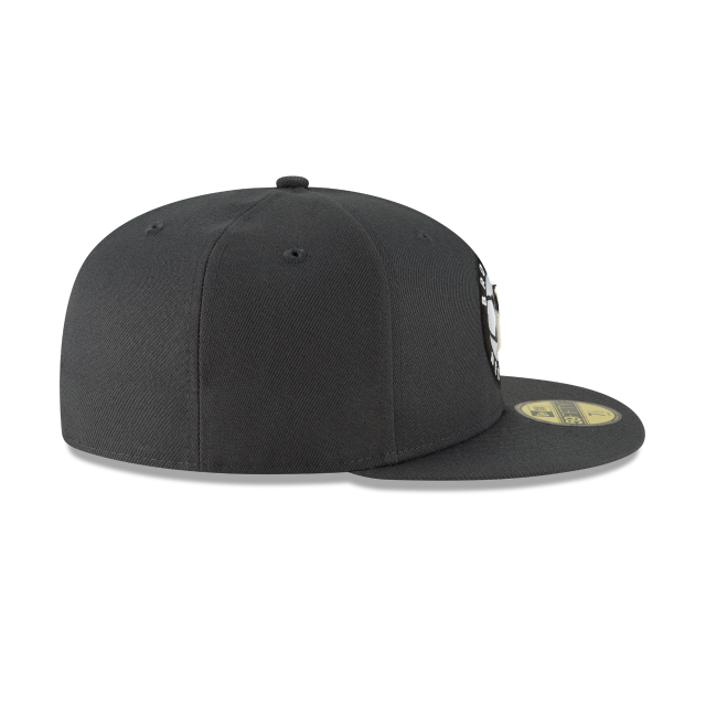 BROOKLYN NETS METAL AND THREAD 59FIFTY FITTED Right side view