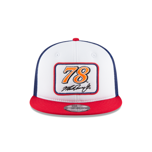 MARTIN TRUEX JR TEAM PRIDE TRUCKER 9FIFTY SNAPBACK Front view
