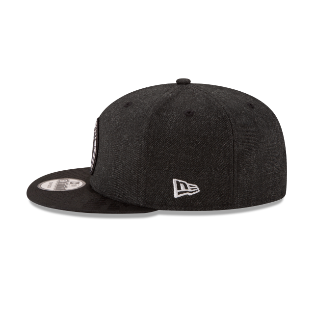 SAN ANTONIO SPURS 2018 NBA AUTHENTICS: TIP OFF SERIES BLACK 9FIFTY SNAPBACK Left side view