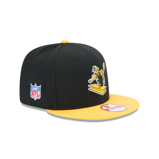 PITTSBURGH STEELERS HISTORIC 9FIFTY SNAPBACK 3 quarter right view