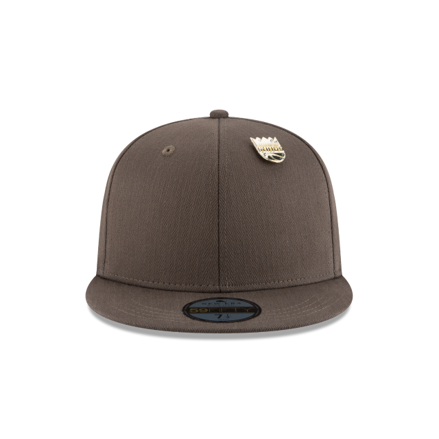 SACRAMENTO KINGS ESSENTIAL PIN 59FIFTY FITTED Front view