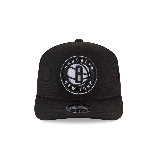 BROOKLYN NETS CROWN SOLID ORIGINAL FIT 9FIFTY SNAPBACK Front view