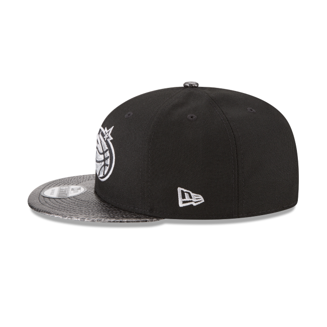 ORLANDO MAGIC SNAKESKIN BLACK 9FIFTY SNAPBACK Left side view
