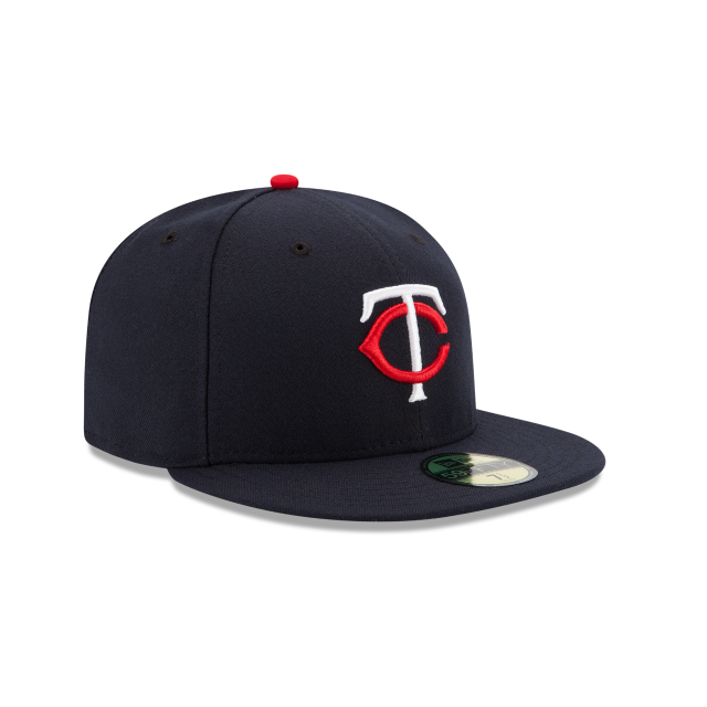 MINNESOTA TWINS AUTHENTIC COLLECTION 59FIFTY FITTED 3 quarter right view