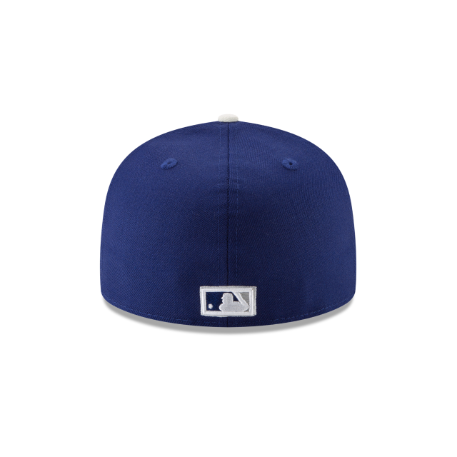 BROOKLYN DODGERS 1955 WORLD SERIES SIDE PATCH 59FIFTY FITTED Rear view