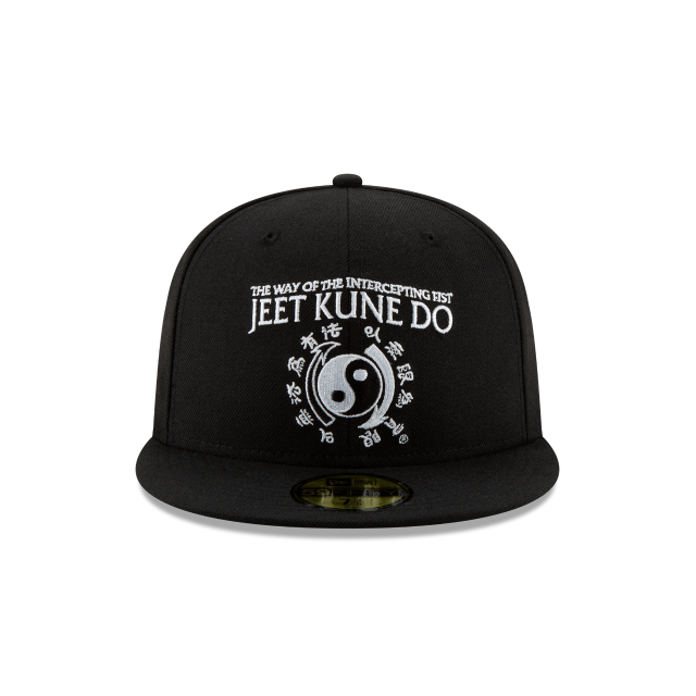 BRUCE LEE BLACK 59FIFTY FITTED Front view