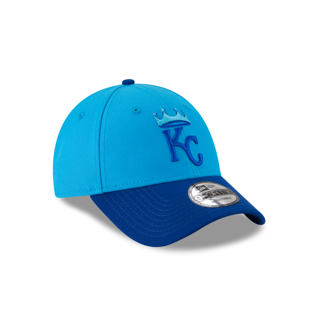 KANSAS CITY ROYALS PLAYERS WEEKEND 9FORTY ADJUSTABLE 3 quarter right view