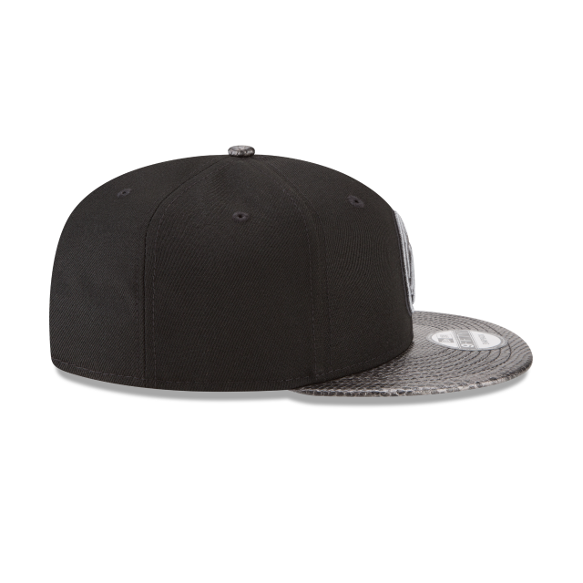 DENVER NUGGETS SNAKESKIN BLACK 9FIFTY SNAPBACK Right side view