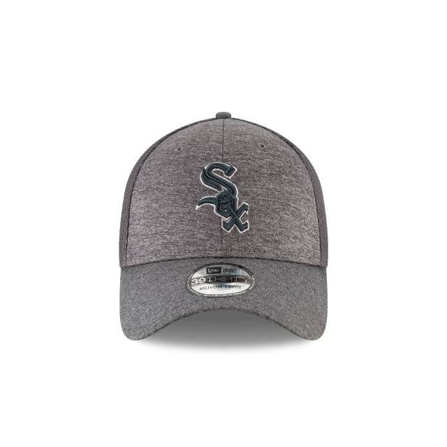 CHICAGO WHITE SOX CLASSIC SHADE NEO GRAPHITE 39THIRTY STRETCH FIT Front view