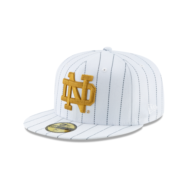 NOTRE DAME FIGHTING IRISH SHAMROCK SERIES 59FIFTY FITTED 3 quarter left view 03461e5b384
