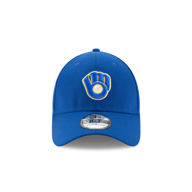 MILWAUKEE BREWERS TEAM CLASSIC 39THIRTY STRETCH FIT Front view