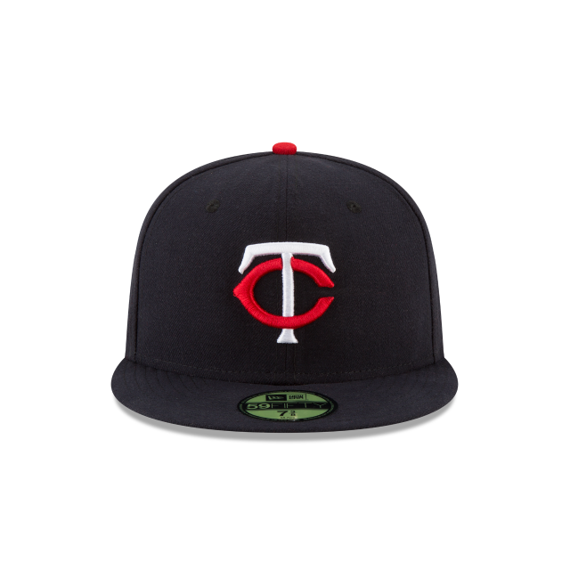 MINNESOTA TWINS AUTHENTIC COLLECTION 59FIFTY FITTED Front view