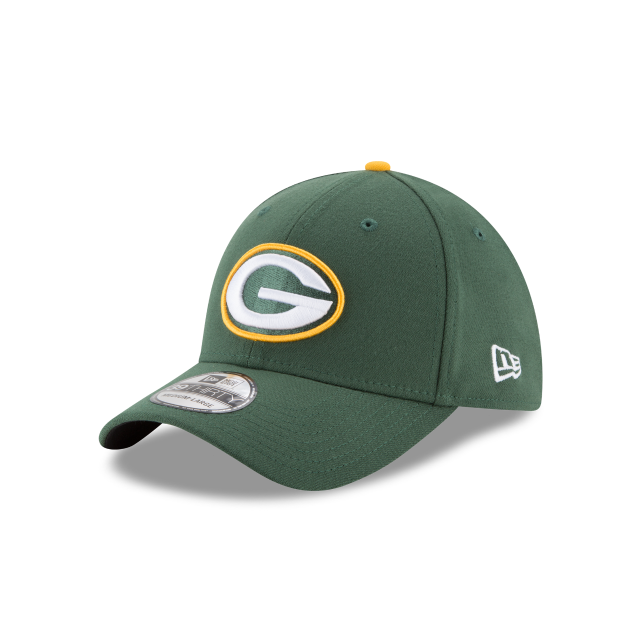 GREEN BAY PACKERS TEAM CLASSIC 39THIRTY STRETCH FIT 3 quarter left view
