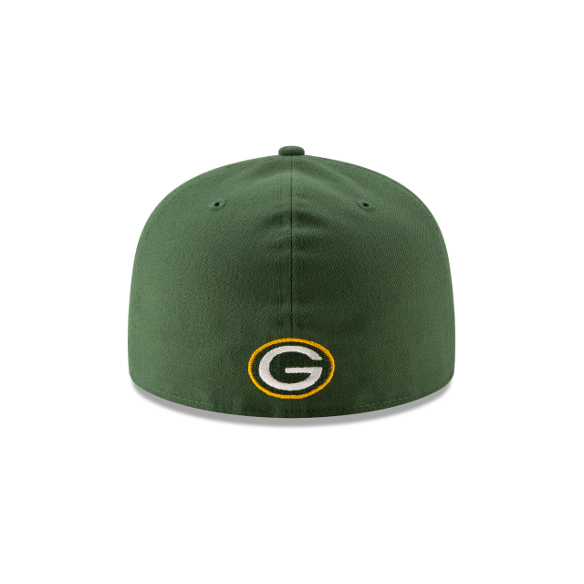 GREEN BAY PACKERS NFL LOGO ELEMENTS 59FIFTY FITTED Rear view