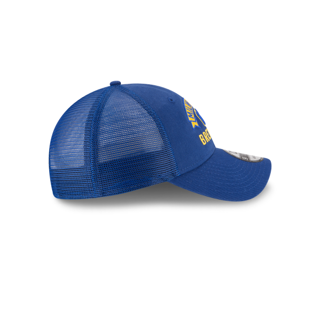 MILWAUKEE BREWERS STACKED CLASSIC 9TWENTY ADJUSTABLE Right side view