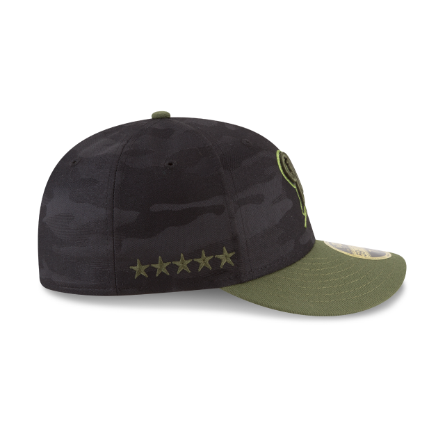 MILWAUKEE BREWERS MEMORIAL DAY LOW PROFILE 59FIFTY FITTED Right side view