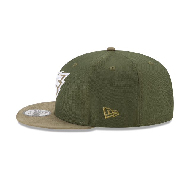 PHILADELPHIA EAGLES TONAL CHOICE GREEN 9FIFTY SNAPBACK Left side view