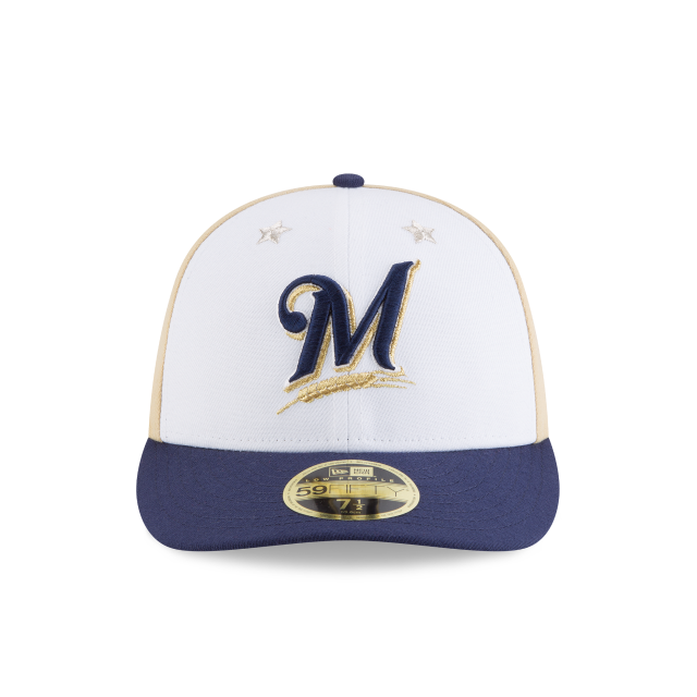 MILWAUKEE BREWERS ALL STAR GAME LOW PROFILE 59FIFTY FITTED Front view