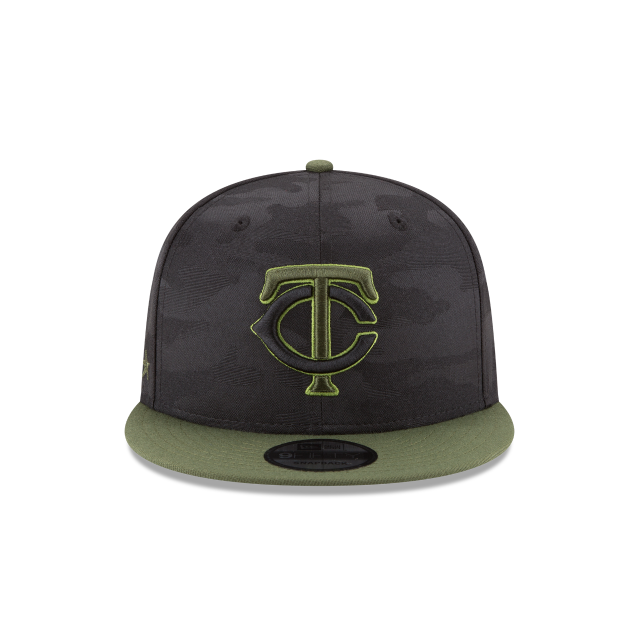 MINNESOTA TWINS MEMORIAL DAY 9FIFTY SNAPBACK Front view