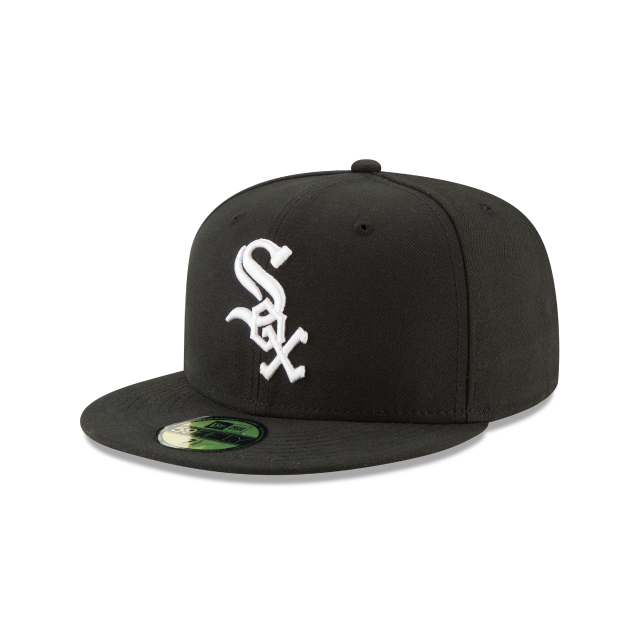 CHICAGO WHITE SOX JACKIE ROBINSON SIDE PATCH 59FIFTY FITTED 3 quarter left view