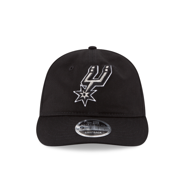 SAN ANTONIO SPURS TEAM CHOICE RETRO CROWN 9FIFTY SNAPBACK Front view