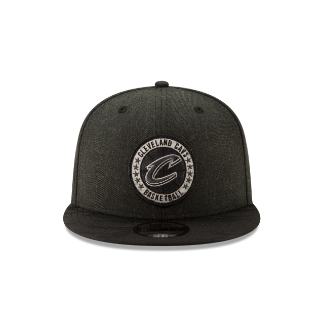 CLEVELAND CAVALIERS 2018 NBA AUTHENTICS: TIP OFF SERIES BLACK 9FIFTY SNAPBACK Front view
