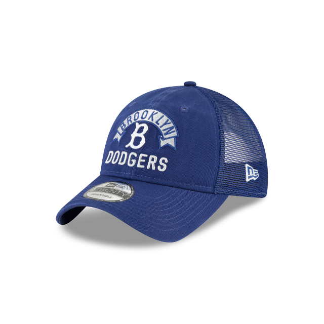 BROOKLYN DODGERS STACKED CLASSIC 9TWENTY ADJUSTABLE 3 quarter left view