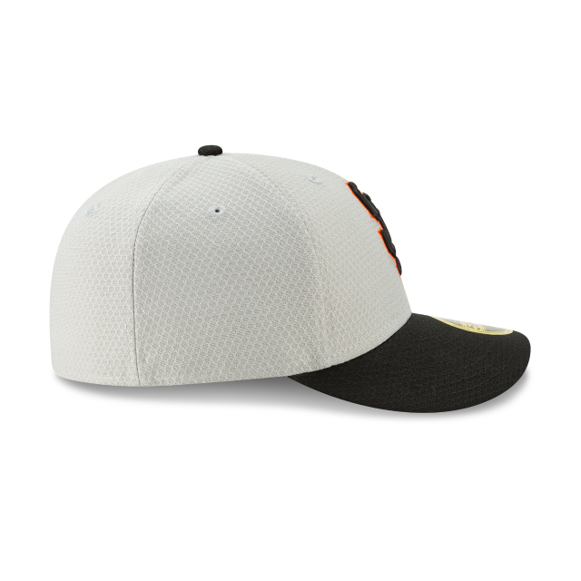 SAN FRANCISCO GIANTS BATTING PRACTICE ROAD LOW PROFILE 59FIFTY FITTED Right side view
