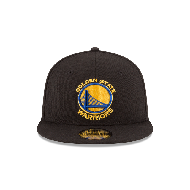 GOLDEN STATE WARRIORS TEAM COLOR 9FIFTY SNAPBACK Front view
