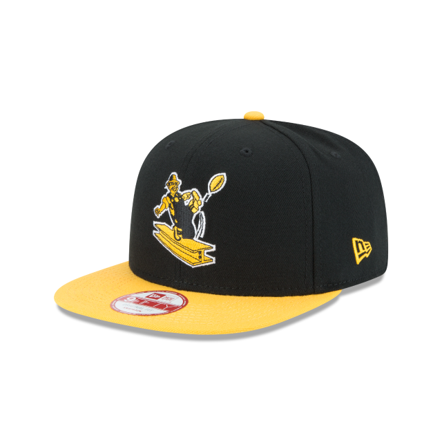 PITTSBURGH STEELERS HISTORIC 9FIFTY SNAPBACK 3 quarter left view