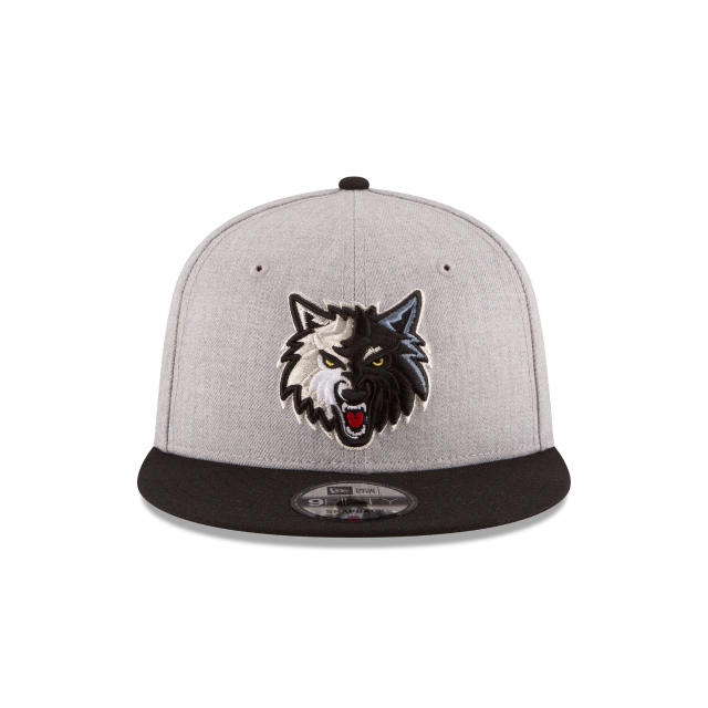 MINNESOTA TIMBERWOLVES 2TONE HEATHER 9FIFTY SNAPBACK Front view