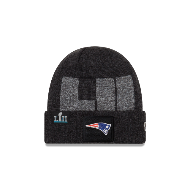 low priced d11a0 9df44 ... shopping new england patriots super bowl lii cuff knit front view 18e5f  871fd