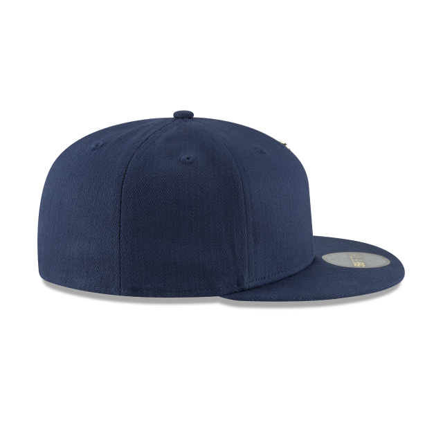 UTAH JAZZ ESSENTIAL PIN 59FIFTY FITTED Right side view