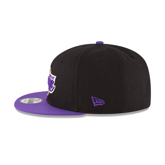LOS ANGELES LAKERS 2TONE 9FIFTY SNAPBACK Left side view