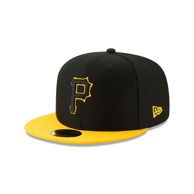 PITTSBURGH PIRATES BATTING PRACTICE 59FIFTY FITTED 3 quarter left view