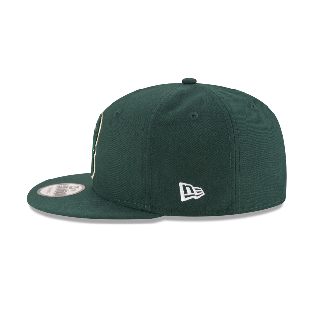 MILWAUKEE BUCKS PLAYOFF SIDE PATCH 9FIFTY SNAPBACK Left side view