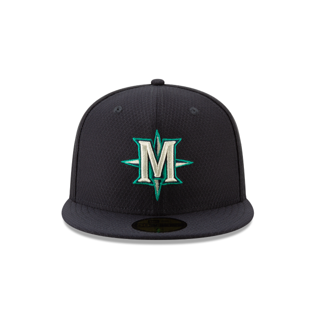 SEATTLE MARINERS BATTING PRACTICE 59FIFTY FITTED Front view