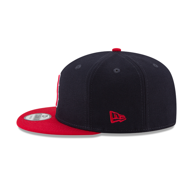 BOSTON RED SOX TEAM PATCHER 9FIFTY SNAPBACK Left side view