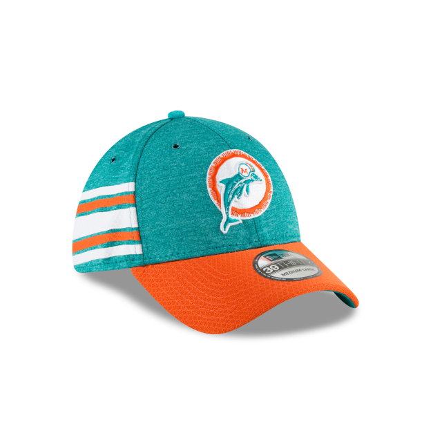 c5803b7eb MIAMI DOLPHINS CLASSIC LOGO SIDELINE HOME 39THIRTY STRETCH FIT 3 quarter  right view