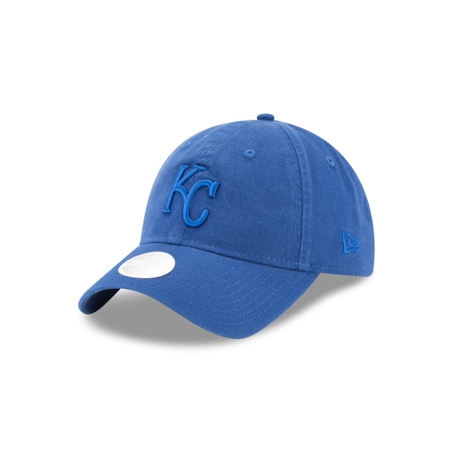 KANSAS CITY ROYALS WOMENS CORE CLASSIC 9TWENTY ADJUSTABLE 3 quarter left view