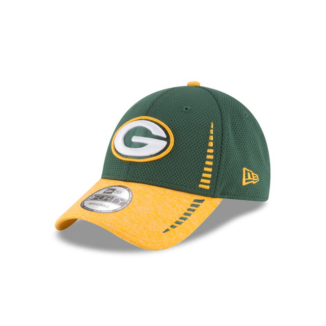 GREEN BAY PACKERS SPEED TECH 9FORTY ADJUSTABLE 3 quarter left view