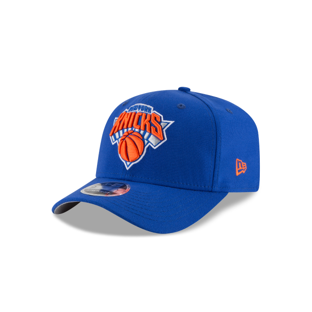 NEW YORK KNICKS STRETCH SNAP 9FIFTY SNAPBACK 3 quarter left view