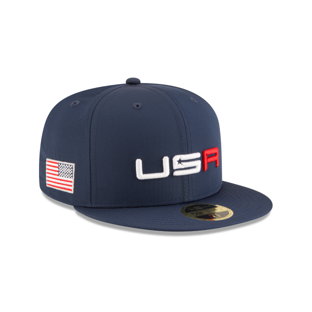 767510b6287 ... coupon code for ryder cup usa blue 59fifty fitted 3 quarter right view  a85a2 fc0d4