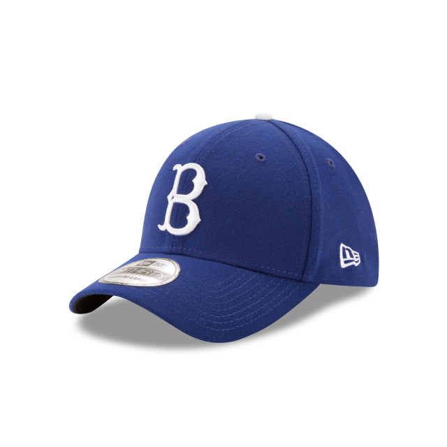 BROOKLYN DODGERS TEAM CLASSIC 39THIRTY STRETCH FIT 3 quarter left view