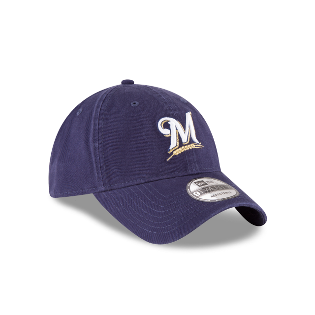 MILWAUKEE BREWERS CORE CLASSIC 9TWENTY ADJUSTABLE 3 quarter right view