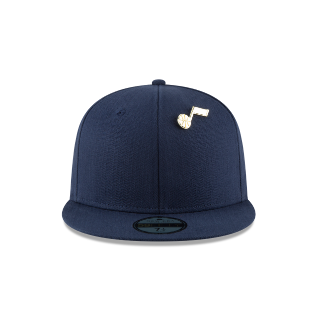 UTAH JAZZ ESSENTIAL PIN 59FIFTY FITTED Front view