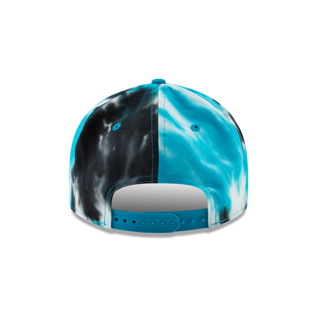 CAROLINA PANTHERS MARBLED RETRO CROWN 9FIFTY SNAPBACK Rear view