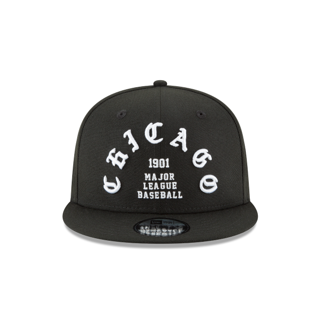 CHICAGO WHITE SOX TEAM DELUXE 9FIFTY SNAPBACK Front view