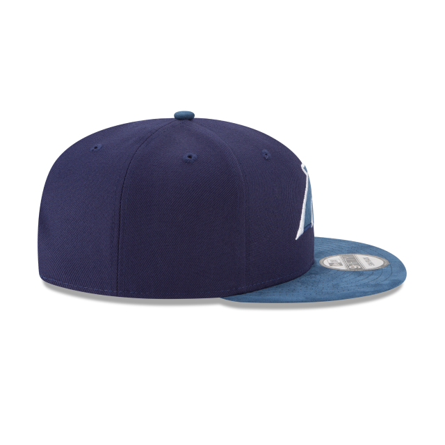 CAROLINA PANTHERS TONAL CHOICE NAVY 9FIFTY SNAPBACK Right side view